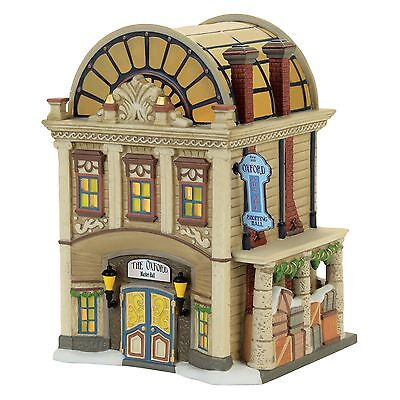 Dept 56 Dickens The Oxford Arcade Lit House Building NEW 4056637 2017 D56