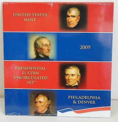 2009 Presidential $1 Coin Uncirculated US Mint Set P & D Sealed (LV#291)
