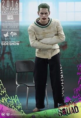 SUICIDE SQUAD: Joker Arkham Asylum 1/6th Scale Toy Fair Action Figure (Hot Toys)