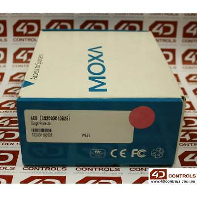 Moxa A60 (CN20030-DB25) RS232 Surge Protector - New Surplus Open