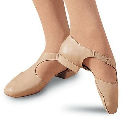 Capezio Pedini Shoe 321 Caramel Lyrical Jazz Dance Teacher NWT