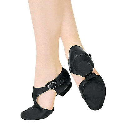 Capezio Pedini Shoe 321 Black Lyrical Jazz Dance Teacher NWT