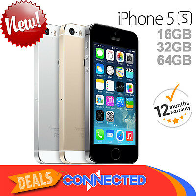 NEW Apple iPhone 5s 16GB 32GB 64GB Space Grey Silver Gold 4G Smartphone Unlocked