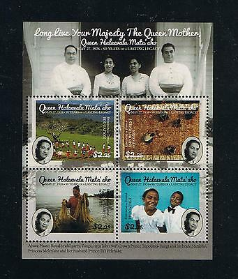 Tonga - 2016 Queen Mother Lasting Legacy Postage Stamp Souvenir Sheet