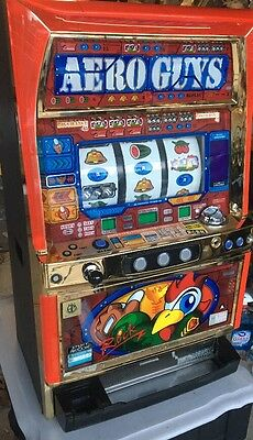 Aristocrat Aero Guys Slot Machine Skill Stop Token Machine