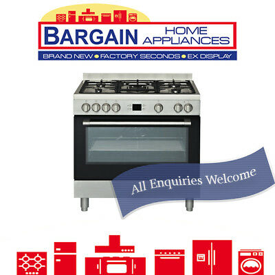 Euromaid Ps90S 900Mm Electric Oven + Gas Cooktop