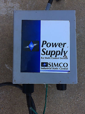 Simco Static Eliminator Power Unit 4000464 F167