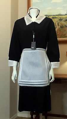 NEW Bonne Bonne Black White Professional French Maid Uniform Dress Costume