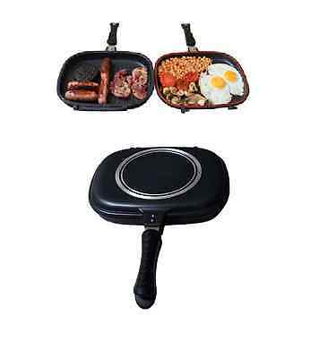 Grilla pan XL Deep Fill Double Sandwich Toaster and Cooker Carp Fishing Tackle