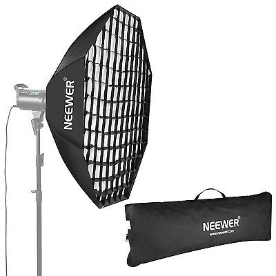 """NEEWER OCTAGON Softbox with Grid Bowens Mount 120cm / 47"""" Beehive"""