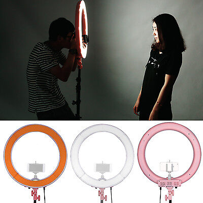 """Neewer 18"""" 55W 240PCs LED SMD 5500K Dimmable Ring Video Light"""