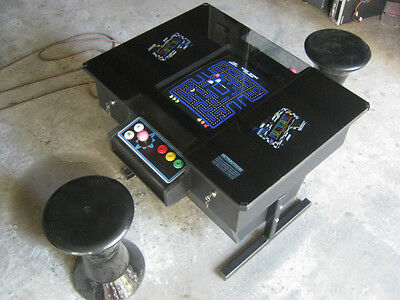 ARCADE SIT DOWN CONSOLE MULTl GAME COCKTAIL TABLE TOP WITH GALAGA PACMAN & MORE