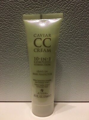 ALTERNA CAVIAR CC CREAM 10-in-1 Hair Perfector DELUXE MINI Size 25ml BRAND NEW!