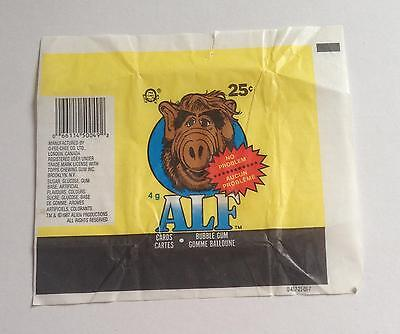 ALF OPC Trading Card Wax Wrapper Vintage O-Pee-Chee 1987