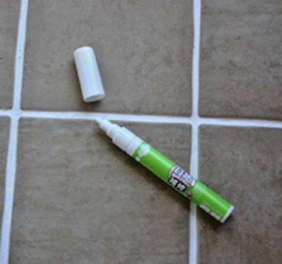 Grout Aide Pen Tile Marker White Quality Product made in Japan+ Free Shipping