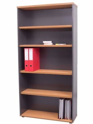 Rapid Worker Bookcase w/ Adjustable shelves Case 3 Sizes 2 Colours Combos