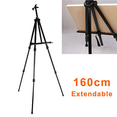 Artist Studio Painting Drawing Easel Tripod Display Telescopic White Board Stand