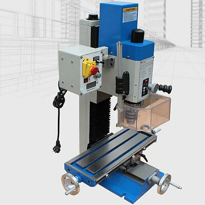 600W Vertical Milling Drilling Machine MT2 Bench Drill Wood Metal Processing