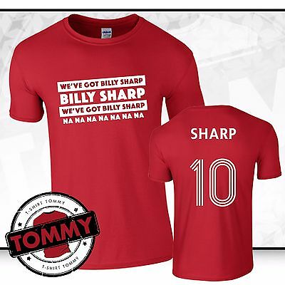 We've Got Billy Sharp Sheffield T-Shirt Blades Sheff Utd tshirt Sheffield Utd