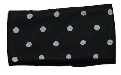**Buy 2 get 1 free**dog belly band black white spots fabric male stud boys puppy