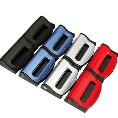 2pcs Adjustable Universal Car seat belt clip Safety seat belt buckle Fixing devi