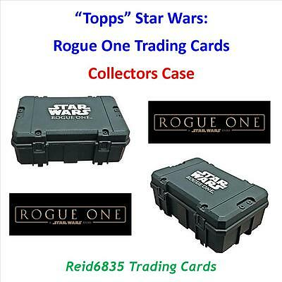"""""""Topps"""" Star Wars: Rogue One Trading Cards - Open """"Collectors Case"""""""