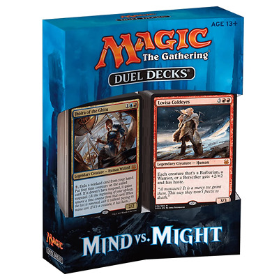 Magic the Gathering MTG Duel Deck Mind vs Might Trading Card Brand New