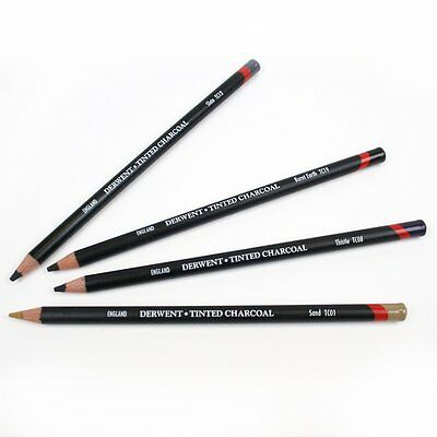 Derwent Tinted Charcoal Individual Pencil
