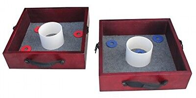 Washer Toss Game Set Outdoor Games For Adults Party Lawn Yard Summer Family Fun