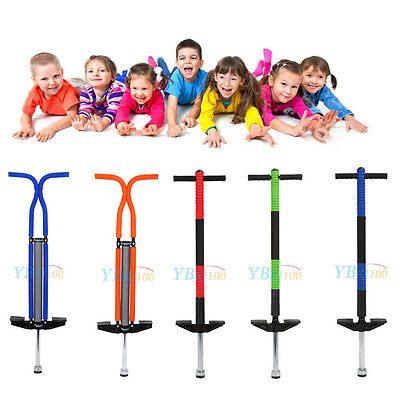 Kids Teenagers Pogo Stick Jump Spring Stick Jumping training Single Double Local