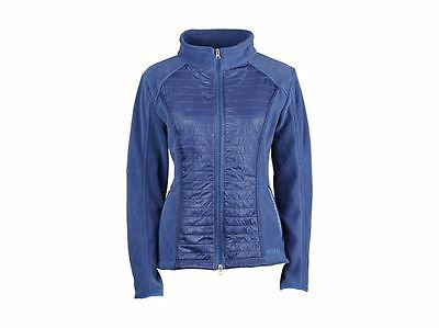 Dublin Betty Ladies Zip Up Fleece Sweater Top Quilted Layer Horse Riding Country