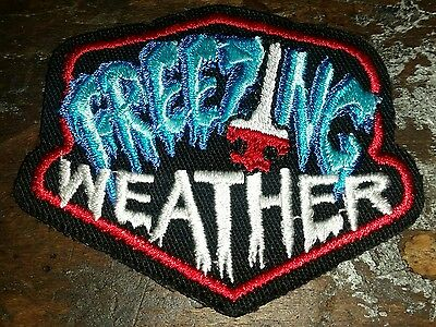 Lot of 13 Boy Scouts of America Freezing Weather Patch