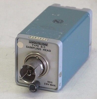 Tektronix S-1 Sampling Head DC - 1 GHz 50 Ohm