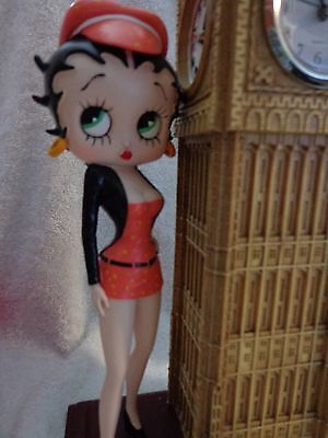 "Betty Boop 13"" Figure Big Ben Clock"