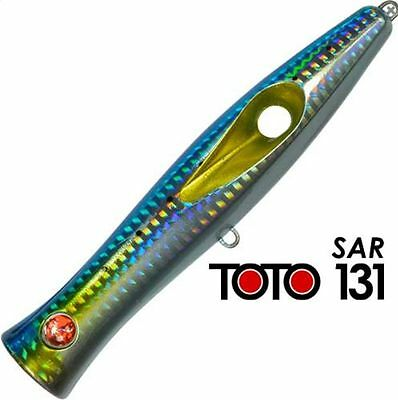 Artificiale Popper Toto 131 Col Sar Seaspin Lure Señuelo Spinning Mare Italy