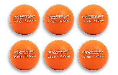 "PowerNet 3.2"" - 20 oz Weighted Training Balls for Baseball Softball Cricket"