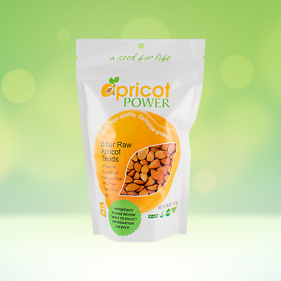 Apricot Seeds | Bitter and Raw | California-Grown | Certified Kosher