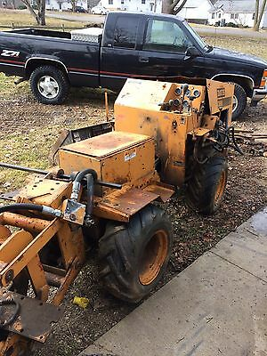 Case Pipe Puller Trencher