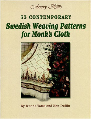 33 Contemporary Swedish Weaving Patterns for Monks Cloth