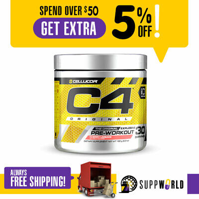 Cellucor C4 iD Original 30 Serve - Pre Workout Explosive Energy - Free Shipping
