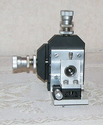 Melles Griot 3 Axis Optical Mount with Lens Fixture