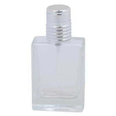Glass Empty Refillable Bottle Spray Perfume Bottles Comestics 30ml Clear