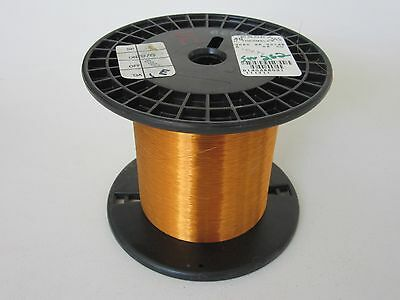 40 AWG   11.2 oz.  Essex Thermalex Heavy Enamel Coated Copper Magnet Wire