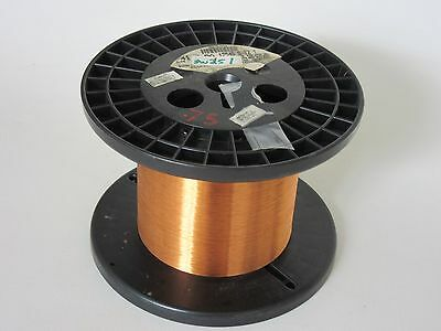 41 AWG   12 oz.  Phelps  Enamel Coated Copper Magnet Wire