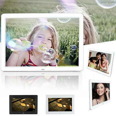"10.1"" inch HD TFT-LCD Alarm Clock Video MP3 MP4 Player Home Digital Photo Frame"