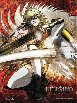 *NEW* Hellsing Ultimate: Seras Wall Scroll by GE Animation