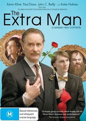 The Extra Man (DVD, 2011) Brand New, Genuine & Sealed  - Free Postage Aust D41