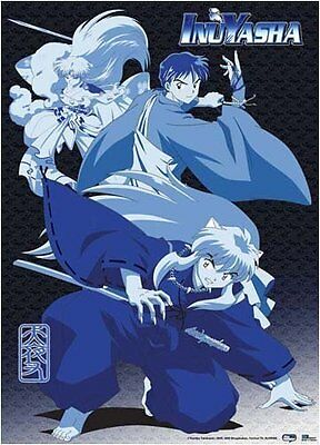 *NEW* InuYasha: Inu Yasha Sesshomaru & Miroku Wall Scroll by GE Animation