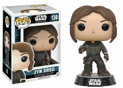 Funko POP! Star Wars Rogue One: Jyn Erso - Vinyl Bobble-Head Figure 138 NEW