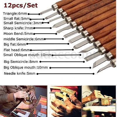 Hand Wood Carving tools Woodcut Craft Chisels Cutter For Sculpture Woodcut DIY